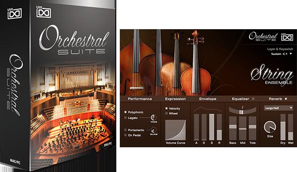 【セール】UVI交響楽団 – Orchestral Suite が約30%オフになるセールを期間限定で開催中。【DTM/ソフトウェア音源】