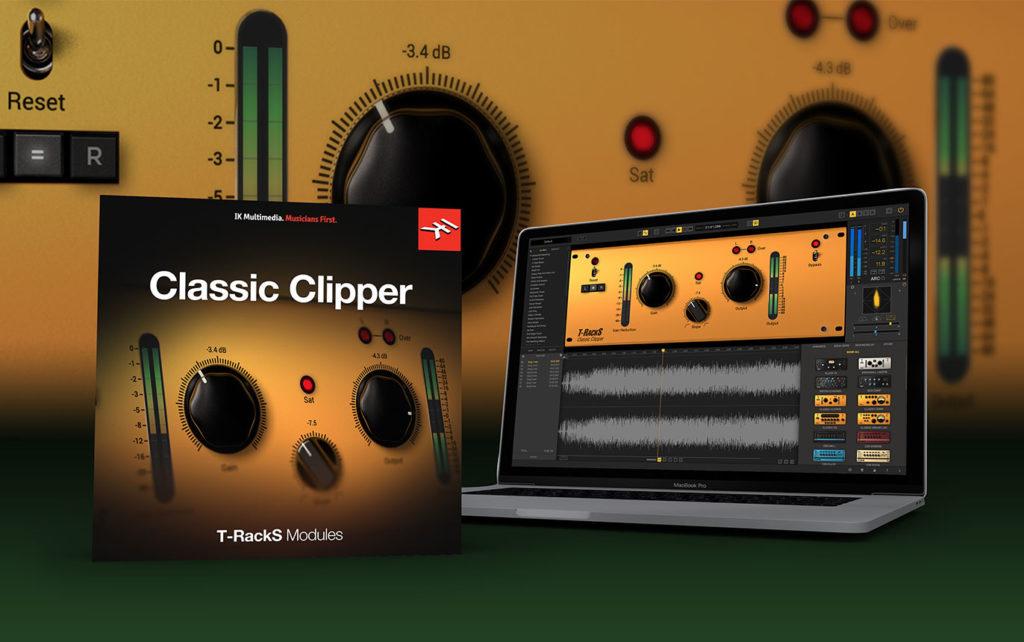 【無料】IK Multimedia社のニュースレター登録でダイナミクスプラグインの「Classic Clipper」をプレゼントするキャンペーンを実施中。【DTM/T-RackS】