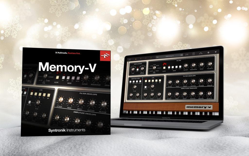 【無料】Ik Multimedia社はSyntronikやSampleTank 4で使える拡張音源Syntronik Memory-Vを無償配布【ソフトウェア音源】